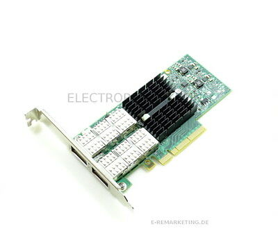 Mellanox ConnectX-3 PCIe DUal Port 656089-001 Full Profile
