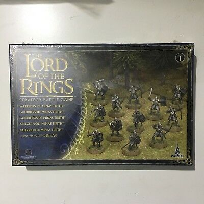 Warriors of Minas Tirith Guerrieri di Minas Games Workshop Lord of the Rings.