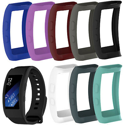 Silicone Smart Fitness Watch Case for Samsung Gear Fit2 SM-R360 Fit2 Pro SM-R365