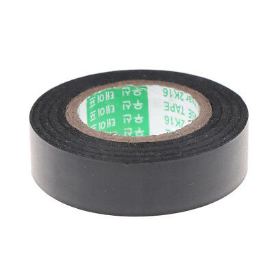 Black PVC Electrical Wire Heat Resistant Vinyl Insulating Tape Roll 16mm*20m  Yx