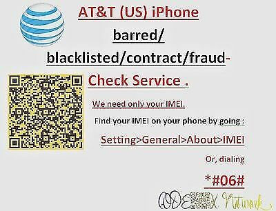 AT&T USA Clean / Barred / Blocked / Unpaid Checker + UNLOCK