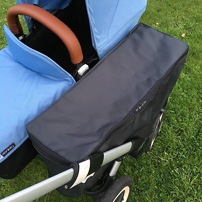 Bugaboo Donkey side basket bag raincover rain cover WITH or WITHOUT ZIP opening