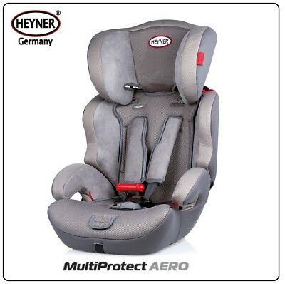 Premium Child High Back Booster Car Seat Safe With Harness Belts ADAC Certified