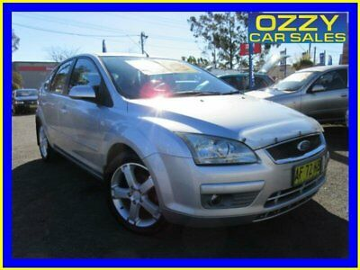 2005 Ford Focus LR LX Silver Automatic 4sp A Hatchback
