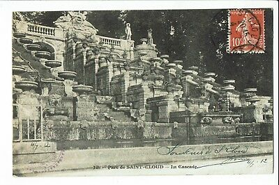 CPA-Carte postale  -  FRANCE  -Saint Cloud - Son Parc - 1912 -S2074