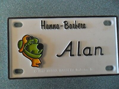 "Muttley (Scooby-Doo) Name Plates or Door Signs circa 1972   About 4"" x 2"""