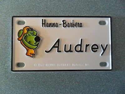"""Muttley (Scooby-Doo) Name Plates or Door Signs circa 1972   About 4"""" x 2"""""""