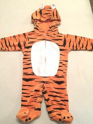 Cute Baby Halloween Costume TIGER with Tail 0-3 Months EUC 719