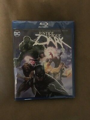 Justice League Dark (Blu-ray/DVD, 2-Disc Set, 2017) NEW