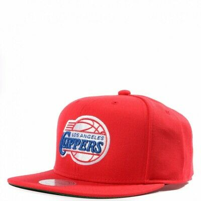 L.A. Clippers Homme Snapback NBA Basketball Rouge Mitchell & Ness