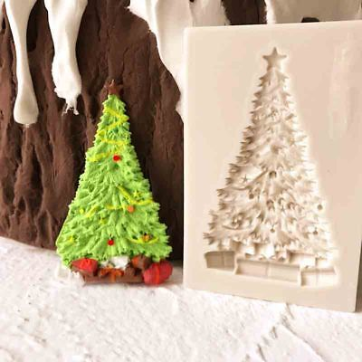 Christmas Tree Silicone Cake Fondant Sugarcraft Mould Chocolate Baking Mold Tool