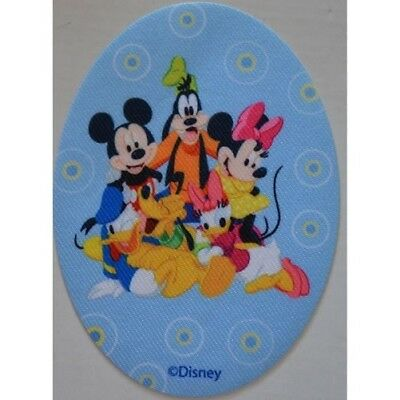 ECUSSON patch thermocollant MINNIE  MICKEY PLUTO  etc ..ovale DISNEY