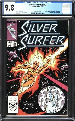 Silver Surfer #12 CGC 9.8 (NM/MT): Rogers Art! Unread! WP! $60 Value!