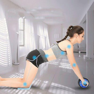 Abdominal Fitness Wheel Workout Gym Roller for Arms Back Belly Core Trainer NP