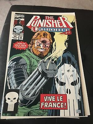 Punisher #65 (1987) Vf/nm