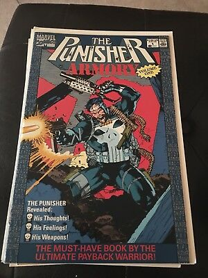 Marvel Comics The Punisher Armory Vol. 1 No. 1, July 1990