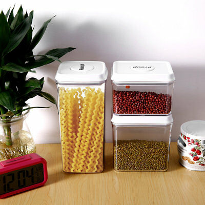 PREUP Multi-purpose Sealed Box Food Storage Container One Touch Button 2500ml U2
