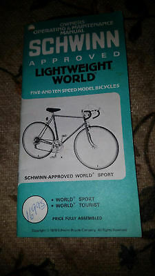 printed material bicycles transportation collectibles page 24 rh picclick com Schwinn Women's Ranger Mountain Bike Schwinn Ranger 26 Mountain Bike