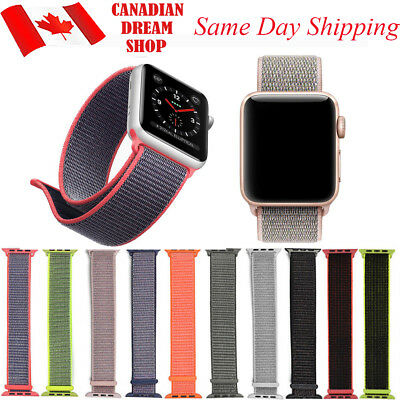 Nylon woven Replacement Strap For Apple Watch Band 42mm/38mm iWatch series 1 2 3