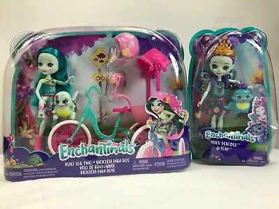 Enchantimals Built for two - Enchantimals Patter Peacock & Flap ***lot 2***