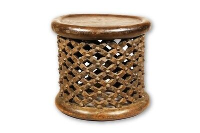 """Beautiful Stool from the Grasslands of Cameroon 19"""" - Cameroon"""