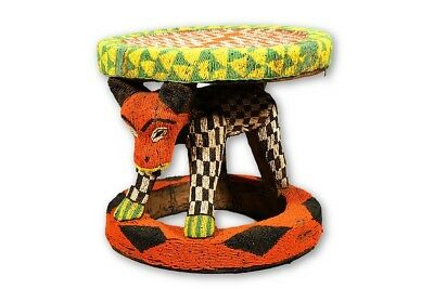 """Beautiful Stool from the Grasslands of Cameroon 21"""" - Cameroon"""