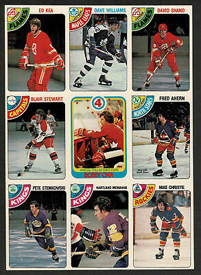 1978-79 OPeeChee (OPC) Uncut Production Nine-Panel, Bobby Orr Retirement, Mint