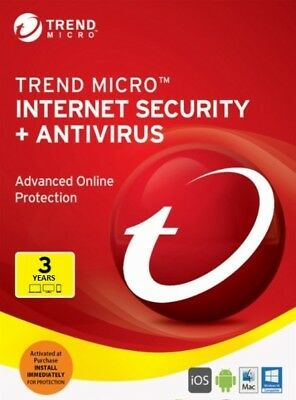 Trend Micro Internet Security - Version for 2019 (3 Years for 1 Device)