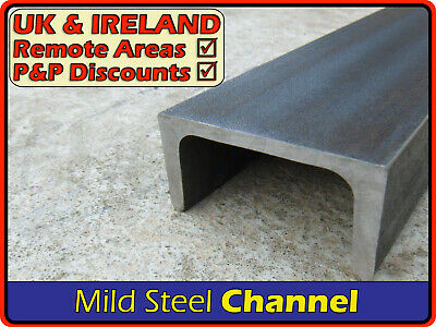 Mild Steel Channel ║ 40 x 20 mm ⫽ 50 x 25 mm 2x1 ⫽ 80 x 40 mm ⫽ 100 x 50 mm 4x2