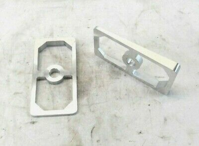 Pair of 4 Degree Aluminum Leaf Spring Shims #1072