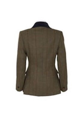 "Caldene Ss18 Tex Competitionjacket Silverdale Tweed Brown - Maids 34"" - Cal3460"