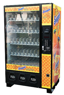 Dixie Narco Bev Max 5591 w/ Snapple Graphic