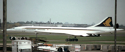 SINGAPORE 1979 BIRD CONCORDE AIRPLANE Prints ask about images*