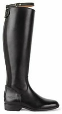 Caldene Long Riding Boots Pendle Black Wide - Size 4 - Cal5790