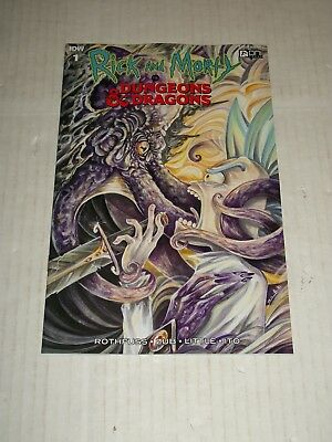 IDW RICK AND MORTY VS DUNGEONS AND DRAGONS #1 1:10 Variant NM/M