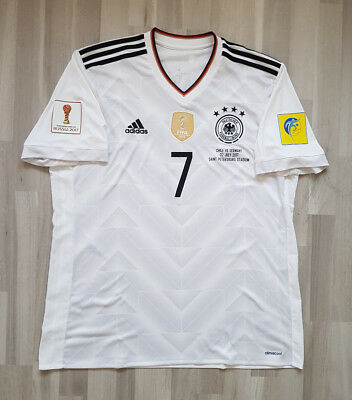 XL DFB Authentic Version Ron-Robert Zieler signiert Deutschland Torwartrikot