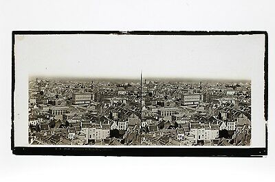 Panorama of Brussels Stereo Lachenal and Favre ca 1865
