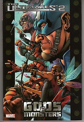 Ultimates 2: Gods And Monsters Tpb First Printing Mark Millar Bryan Hitch