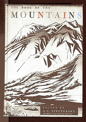 THE BOOK OF THE MOUNTAIN Anthology vintage HB 1955 buchan Buck Auden Mailer Livy