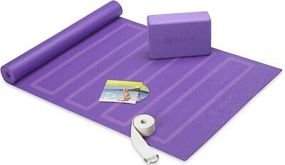 Gaiam Beginner's Yoga Kit, Purple