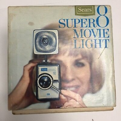 Sears Super 8 Movie Light
