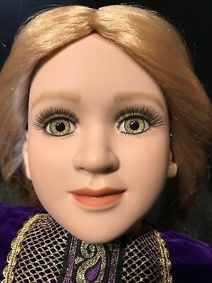 "Princess Beth ~ 23"" My Twinn doll, Denver, rare eye color, royal ensemble"