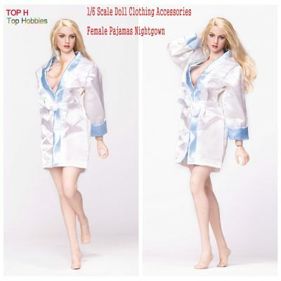 """1/6 Female Clothes Ladies Pajamas Nightgown Model Fit 12"""" PHicen Body Figure Toy"""