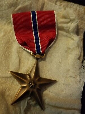 Ww2 Bronze Star The Real Thing   $15.00