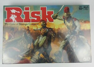 Risk The Game of Strategic Conquest Classic Board Game Hasbro Gaming