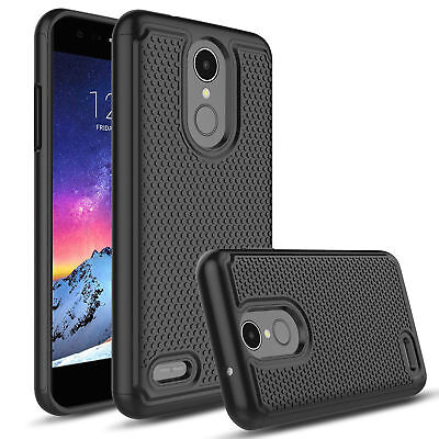 For LG Aristo 2/2 Plus/ Tribute Dynasty Hybrid Shockproof Hard Phone Case Cover