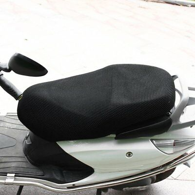 Motorcycle Sunscreen Seat Cover Small Holes Prevent Bask Scooter Elastic Cover A