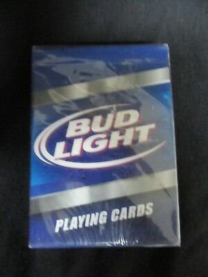 BUD LIGHT BEER PLAYING CARDS by ANHEUSER BUSCH
