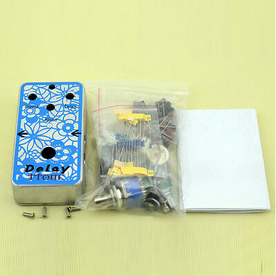 Delay DIY Guitar  Pedal Kit with Delay-1 Pedal  PCB and PT2399/TL072 Free Ship