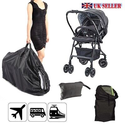 Waterproof Gate Check Pram Travel Bag for Umbrella Buggy /Pushchair Stroller UK